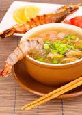 китайский суп — Стоковое фото
