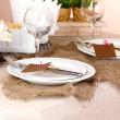 Rustic table setting — Stock Photo #18922865