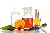 Crear perfume aislado en blanco — Foto de Stock