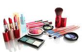 Kosmetyki na białym tle — Zdjęcie stockowe