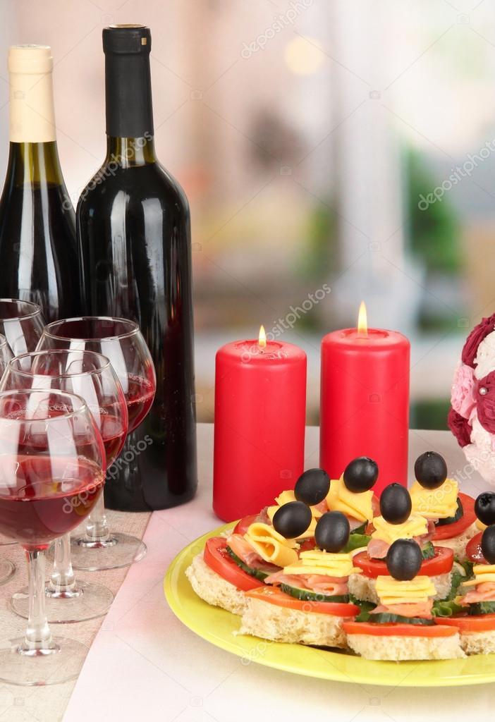 Канапе для вина рецепты