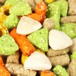 Dry dog treats close up — Stock Photo #20046805