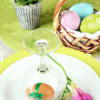 easter table setting — Stock Photo #21644271
