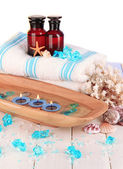 Sea spa elements close up — Stock Photo