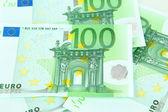 Euro banknotes close-up — Stock Photo