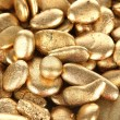 Stock Photo: Golden stones close-up