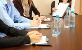 Conceptuele foto van zakelijke bijeenkomst — Stockfoto