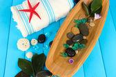 Elementos de spa mar close-up — Fotografia Stock