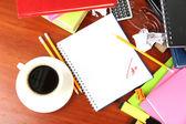 Student's workplace — ストック写真