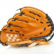 Stock Photo: Baseball glove isolated on white