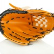 Baseball glove isolated on white — Stock Photo
