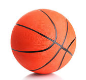 Basketball isolated on white — Stockfoto