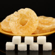 Stockfoto: Concept: Amount of sugar in food