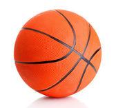 Basketball isolated on white — Stock Photo