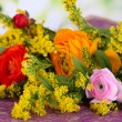 Beautiful flowers on bright background - Foto de Stock