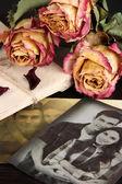 Ricordi vintage da vicino — Foto Stock