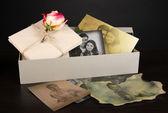 Vintage herinneringen close-up — Stockfoto