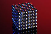 Neocube (toy) on bright background — Stock Photo