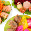 Stuffed cabbage rolls close-up — Stock Photo