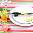 Easter table setting — Stock Photo #24014701