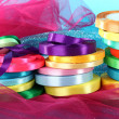 Bright ribbons on bright background — Stock Photo #24025919