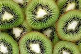 Sfondo di fette di kiwi — Foto Stock