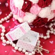Stock Photo: Conceptual photo: wedding in pink color style