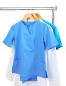 Medical clothing on hunger — Stock Photo