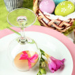 Easter table setting — Stock Photo #24280499