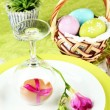 Easter table setting — Stock Photo #24280503