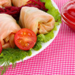 Royalty-Free Stock Photo: Stuffed cabbage rolls close-up