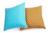 Two pillows isolated on white — Stock Photo