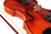 Classical violin close up — Stok fotoğraf