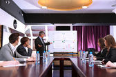 Företagsutbildning på kontor — Stockfoto