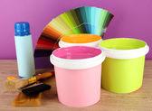 Paint pots — Stock Photo