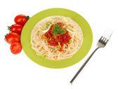Ahşap masa yakın çekim üzerinde tavada sebze çorbası diyet — Stok fotoğraf