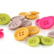 Buttons of different shapes, sizes and colors — Stock Photo