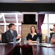Business working in conference room — Stock Photo #25316623