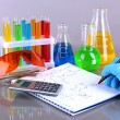 Royalty-Free Stock Photo: Hand scientist writing formulas