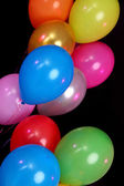Many bright balloons close-up — 图库照片