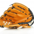 Baseball glove isolated on white — 图库照片