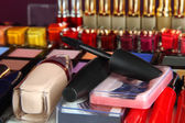 Bardzo bliska makijaż — Zdjęcie stockowe