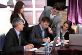 Business working in conference room — Stock Photo