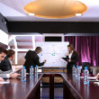 Business training at office — Stock Photo #25769967