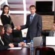 Business working in conference room — Stock Photo #25889921