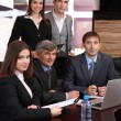 Business working in conference room — Stock Photo #25891187