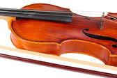 Classical violin close up — Stock Photo