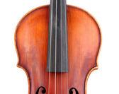 Klassisk violin isolerad på vit — Stockfoto