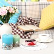 Стоковое фото: Close up on trendy modern living room