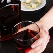 Problem of alcoholism close-up — Stock Photo #26201303
